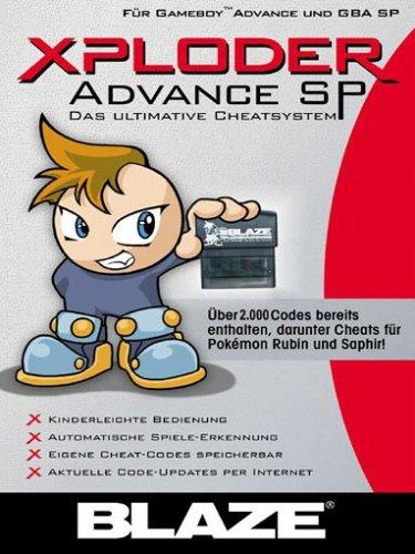 Gameboy Advance - Xploder Advance SP (Game Boy Cheat)