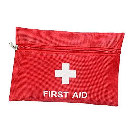 Delmkin Erste-Hilfe-Set Tragbar Outdoor-Reisen / home Mini wasserdicht Erste Hilfe Set Bag - 11 teilig Set