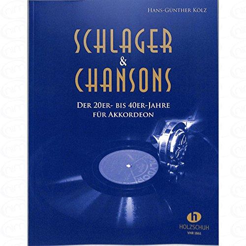 Schlager + Chansons der 20er bis 40er Jahre - arrangiert für Akkordeon [Noten/Sheetmusic] (Zwei Sonnen Am Himmel)