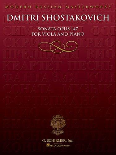Sonata, Op. 147: Viola and Piano