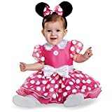 Disney Baby Minnie Mouse Mickey Maus Halloween Fasching Karneval Kostüm 80