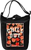 Chill Out Floral Texture Leinwand Tagestasche Canvas Day Bag| 100% Premium Cotton Canvas| DTG Printing|