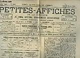 Telecharger Livres Petites Affiches de la Gironde Journal special d annonces judiciaires N 3899 45eme annee (PDF,EPUB,MOBI) gratuits en Francaise