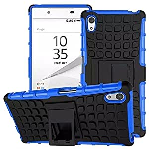 Dashmesh Shopping Sony Xperia M5, Shock Proof Protective Case For Sony Xperia M5 - Royal Blue