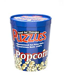 Funtime Food For Thought Puzzles - Popcorn - 550 Piece Puzzle*