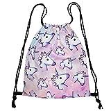 Emoji Drawstring Bag, SEARCHALL Team Training Gym sack Drawstring Backpack Sack Bag for Girls Soft Polyester Gym Sackpack Drawstring bag Sport Bag for Teens Emoji Stuff, Blue Emoji[NEW]