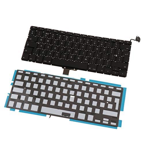 Unbekannt Laptop UK Tastatur Mit Hintergrundbeleuchtung Für MacBook Pro 13 A1278 (Ersatz-schlüssel Für Macbook Pro)