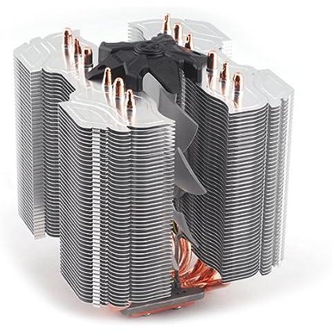 Zalman CNPS14X - Ventilador de PC (Enfriador, Procesador, -40 - 150 °C, Socket AM2, Socket AM3, Socket AM3, Socket AM3+, Socket FM1, Socket H (LGA 1156), Socket T (LGA 775), Athlon, Athlon FX, Athlon II, Athlon II Dual-Core, Athlon II X2, Athlon II X3, Athlon II X4, Athlon , Gris)