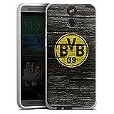 HTC One E8 Silikon Hülle Case Schutzhülle Borussia