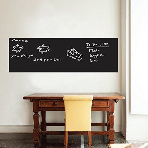 Walplus da parete 200x 45cm UK lavagna adesivo rimovibile da parete Art Decals vinyl Home Decoration DIY Living camera da letto ufficio Décor Wallpaper Kids Room Gift, multicolore