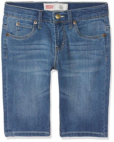 Levi's Kids Jungen NL25067 Shorts, Blau (Denim 46), 140 (Herstellergröße: 10A) -