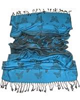Lovarzi Women's Butterfly Scarf - Beautiful butterfly pashmina scarves cum shawl