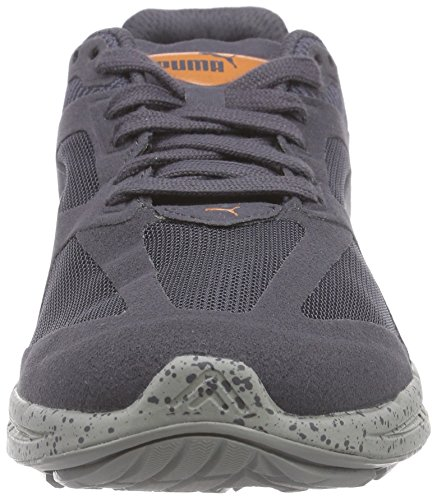Puma Ignite Winterized, Baskets Basses mixte adulte Bleu - Blau (periscope-steel gray 03)
