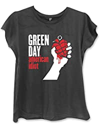 Green Day - American Idiot Damen Girlie Shirt Gr. L