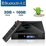 Globmall X4 Android 7.1 Smart TV Box Bluetooth 4.0 2GB RAM 16GB Amlogic Quad Core CPU 4K 3D WiFi Box TV