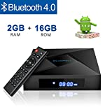 Globmall X4 Android 7.12 TV Box 2GB RAM +16GB con Bluetooth 4.0 y WiFi Amlogic S905W Quad Core CPU...