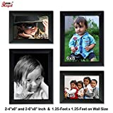 Best Photo Frame 4x6 - Ajanta Royal Classic set of 4 Individual Photo Review