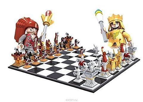 Ausini Ritter vs Pirates Schachspiel / große kiste sets 2158pcs NEU #27115