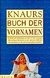 Knaurs Buch der Vornamen bei Amazon kaufen