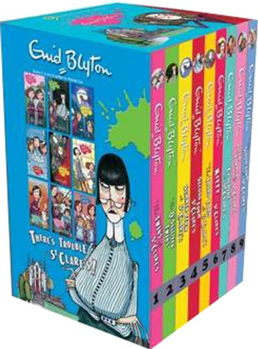 St Clare's 9 Exciting School Stories (Malory Towers) por Enid Blyton