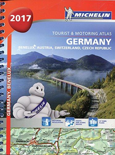 Germany/Austria Atlas 2017 (Michelin Atlas) por Michelin