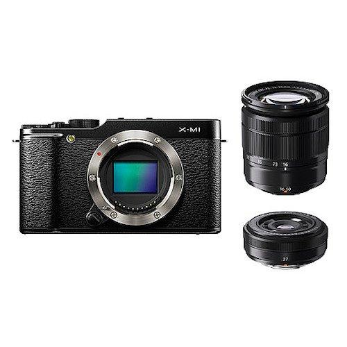 Fujifilm FinePix X-M1 Mirrorless Camera (Black)