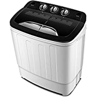Lave-linge portable TG23 - Lave-linge de baignoire double avec compartiments des cycles lavage et essorage par ThinkGizmos (Protégé par Marque de Fabrique)