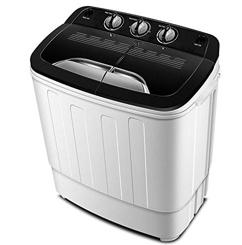 Tragbare Waschmaschine TG23 - Waschmaschine mit doppelter Wanne für Wasch- und Schleuderzyklus von ThinkGizmos (markengeschützt)