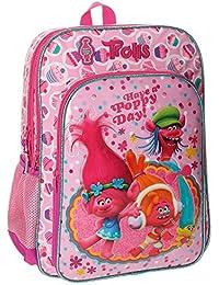 Preisvergleich für Trolls Trolls Happy Schulrucksack, 40 cm, 19.2 liters, Rosa