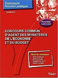 Concours commun d'agent des ministères de l'économie et du budget : Catégorie C