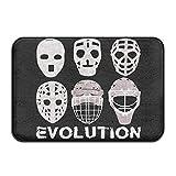 Sconosciuto Hockey maschere Evolutiondoormat ingresso zerbino tappeto indoor/outdoor/Front Door/bagno tappetini in gomma antiscivolo