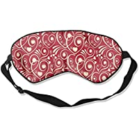 Comfortable Sleep Eyes Masks Heart Pattern Sleeping Mask For Travelling, Night Noon Nap, Mediation Or Yoga preisvergleich bei billige-tabletten.eu