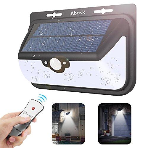 Nouvelle version lampe solaire ext rieur etanche abask - Quelle puissance led pour eclairage exterieur ...