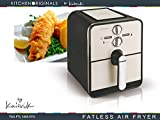 TKG FTL 1000 KTO 2,4 L Heißluftofen / Fettfreie Fritteuse mit kraftvollen, 1100 W, creme