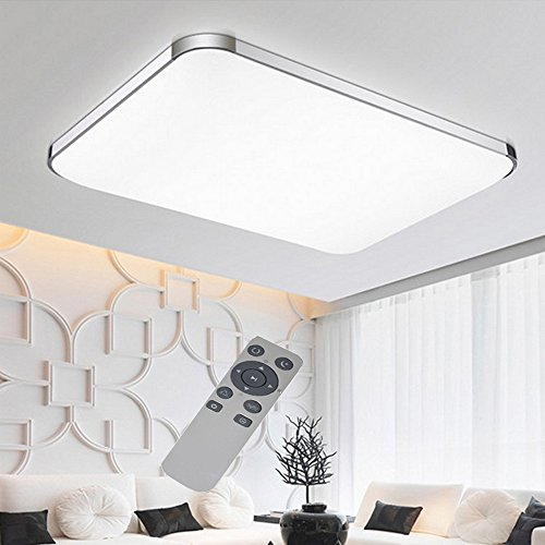 ... WYBAN Hohe Qualität Moderne Energiespar Panel LED Deckenleuchten  Perfekt Für Wohnzimmer Schlafzimmer Gastzimmer Pendelleuchte  Deckenbeleuchtung (