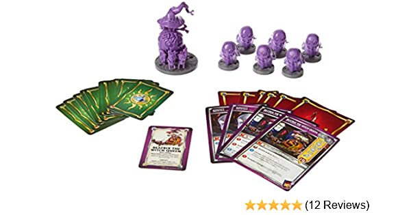 Super Dungeon Explore Beatrix the Witch Queen Board Game