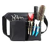 Symboat Professionell Haar-Schere Kamm Größe Pack Tasche Haarnadel Salon Werkzeugkoffer Haar Accessoires - Schwarz