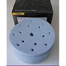 Mirka 2261109912Base Cut Grip 15L P120, 150mm, 100Pro Pack