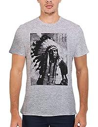 PatPat Store Los Indios Jefe Nativo Americanos Novedad Hombres Mujeres Unisex Top T Shirt