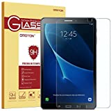 OMOTON Compatible with Samsung Galaxy Tab A 10.1 Screen Protector - Tempered Glass Protector with [9H Hardness] [Crystal Clear] [Scratch Resist] [No-Bubble Installation]