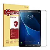 OMOTON Samsung Galaxy Tab A 10.1 Screen Protector - Tempered Glass Protector Galaxy Tab A 10.1 with [9H Hardness] [Crystal Clear] [Scratch Resist] [No-Bubble Installation] Lifetime warranty