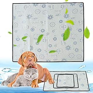 JenNiFer 1 stücke Pet Kühlmatte Hund Chill Bett Indoor Sommer Wärmeentlastung Kissen Gel Pad Sitz - XL