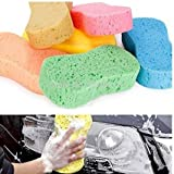 Premsons Colorful Car Washing Sponges Strong Absorbent Porous Washing Block Cleaner Tool (Pack of 2) (Colours May Vary)