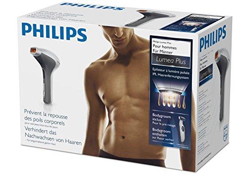 Philips TT3003/11 IPL Haarentfernungssystem Lumea for Men + Bodygroom