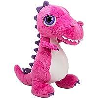 Li'l Peepers 14369 Tyrannosaurus-Rex Dinosaurier von Suki Gifts, Rosa 23 cm