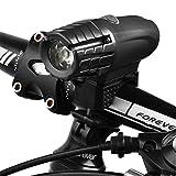 Nclon Fahrradbeleuchtung Set Led,Frontlichter Super-bright 1000 Lumen Usb Wiederaufladbar Ip65 Wasserdicht Einfache Inst