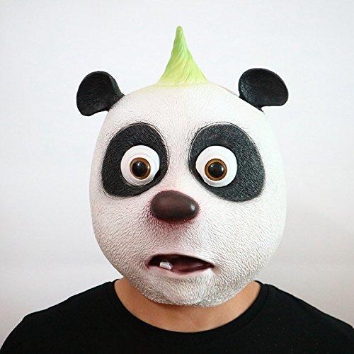 Niedlichen Für Erwachsene Kostüm Tier - Panda Latex Kopf Maske niedlichen Halloween Kostüm Maske cosplay Tier voller Gesichtsmaske Karneval für Erwachsene und Kinder von yunhigh