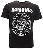 t-shirt noir RAMONES -tshirt original -send from Tshirteria- XS S M L XL