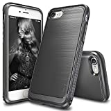 Ringke Onyx Resilient Strength Durable Anti Slip TPU Defensive Case for Apple iPhone 7 - Black-parent, Mist Grey, medium