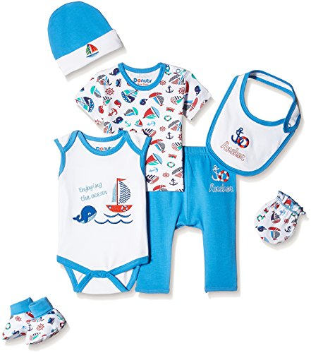 Donuts Baby Boys Clothing Set (266077363_Assorted_03M)